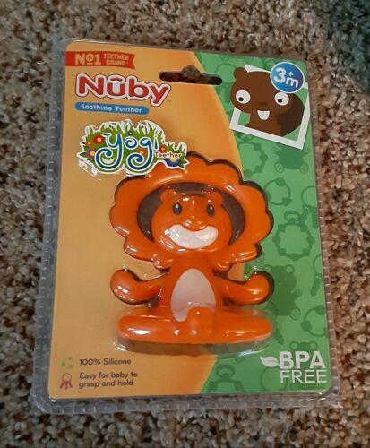 Nuby Soothing Teether yogi Teether Orange Lion