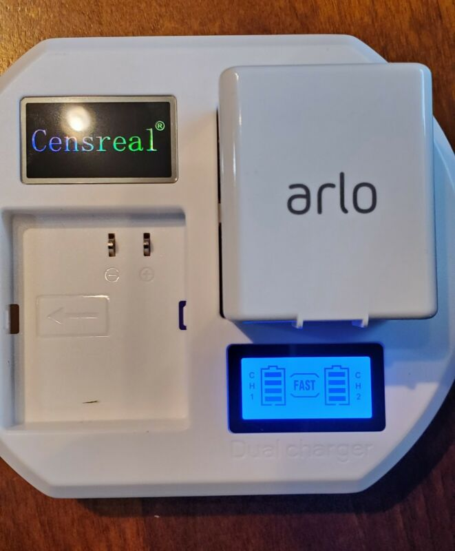 LCD Dual Fast Charger For Arlo Pro, Arlo Pro 2