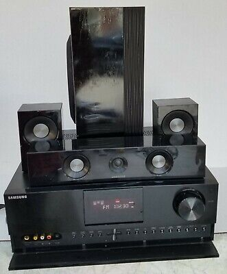 Samsung HW-D650S Home Theater 5.1 Channel AV  Receiver 4 HDMI With Speakers