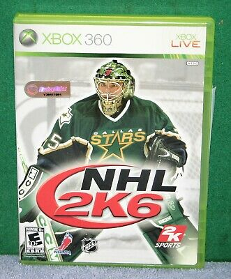 X-BOX 360 VIDEO GAME NHL - 2K6  for sale  Shipping to India