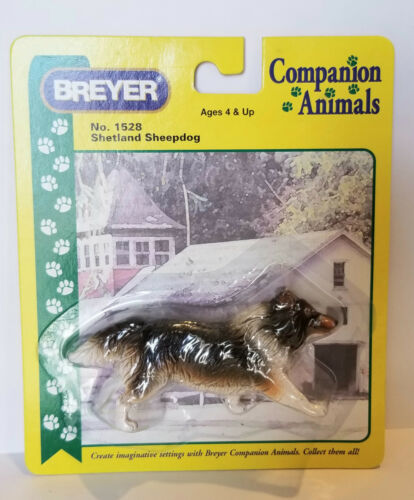 Breyer 1528 Shetland Sheepdog Companion Animal Model Dog Retired