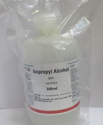 New 99 Isopropyl Alcohol 200ml American Production