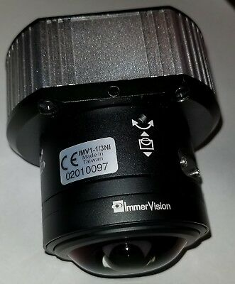 Arecont Camera Av3115dn 3mp H264 Ip Poe Camera With Immervision 360 Lens.