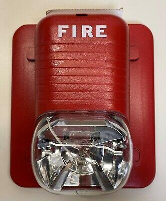 System Sensor Honeywell Notifier Fire-lite Ada Fire Alarm Strobe Model S1224mc