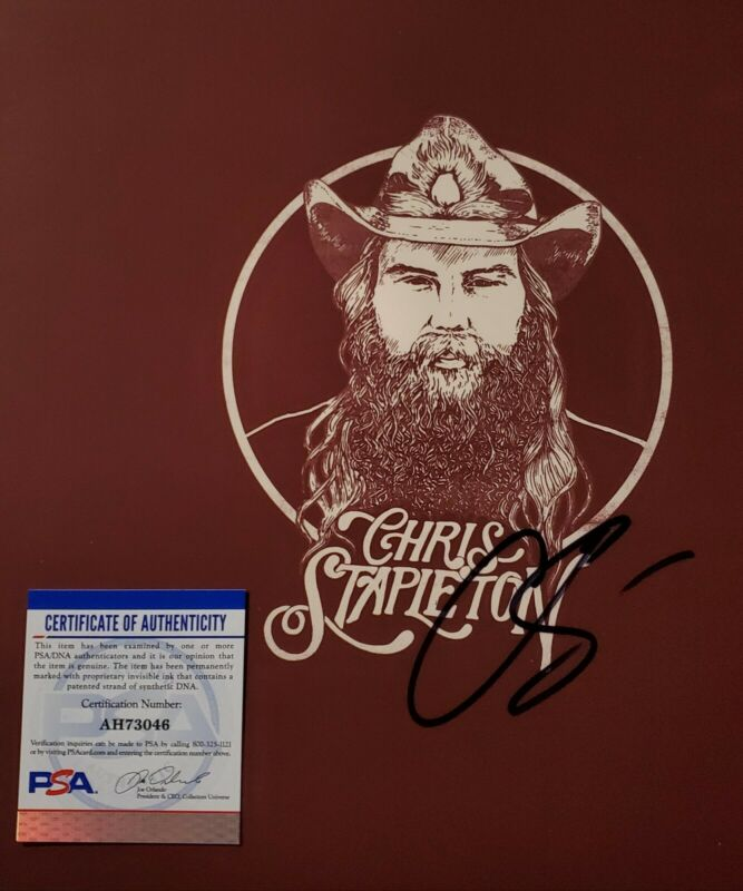 "PSA/DNA Chris Stapleton Autographed Album LP FROM ""A"" ROOM VOLUME 2"