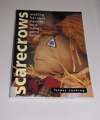 Scarecrow Plan - DIY Scarecrow / Everyday Making Book Harvest Figures  Yard Folks 20+ Full Plans