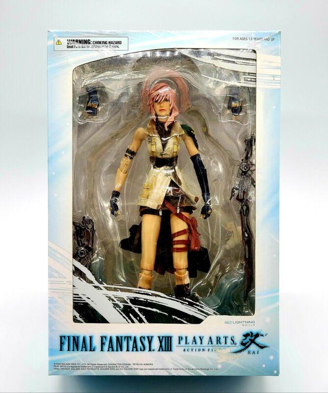 Final Fantasy XIII Lightning Black Label Square Enix Kai Action Figure READ 🛑🛑