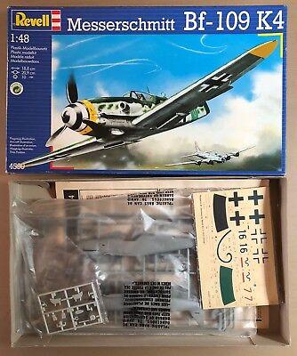 REVELL 4590 MESSERSCHMITT Bf-109 K4 1/48 PLASTIC KIT NUOVO
