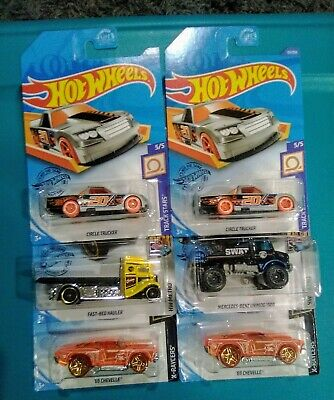 Hot Wheels Treasure Hunt~Lot of 6~