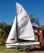 Tasar Sail Boat West Lakes Charles Sturt Area Preview