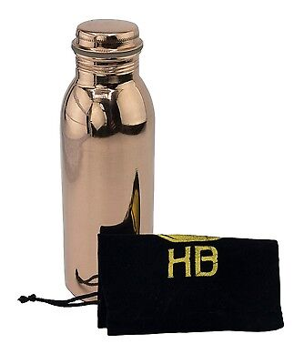 Healing Bottle 750ml Copper Water Bottle - Ayurvedic Health Benefits - New!