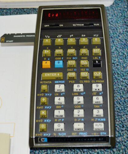 Hewlett-Packard HP 65 67 Calculator Card Reader Repair, 90-Day Warranty