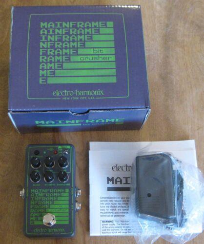 Electro Harmonix Mainframe Bit Crusher Guitar Effects Pedal - EHX