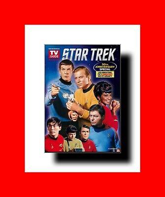 VERY RARE TV GUIDE STAR TREK 50th ANNIVERSARY SPECIAL EDITION MAGAZINE ALLSERIES