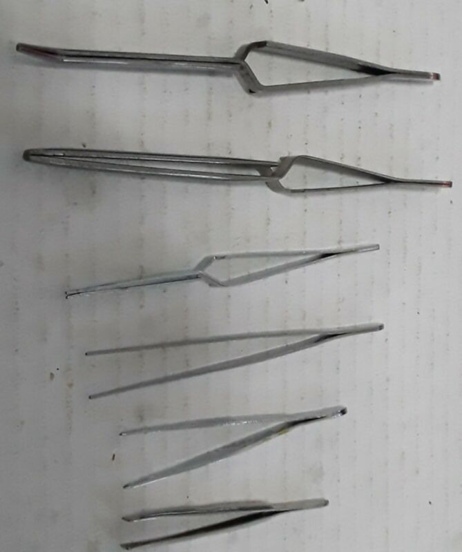 6 Piece Tweezer Set (Revell or Testors)