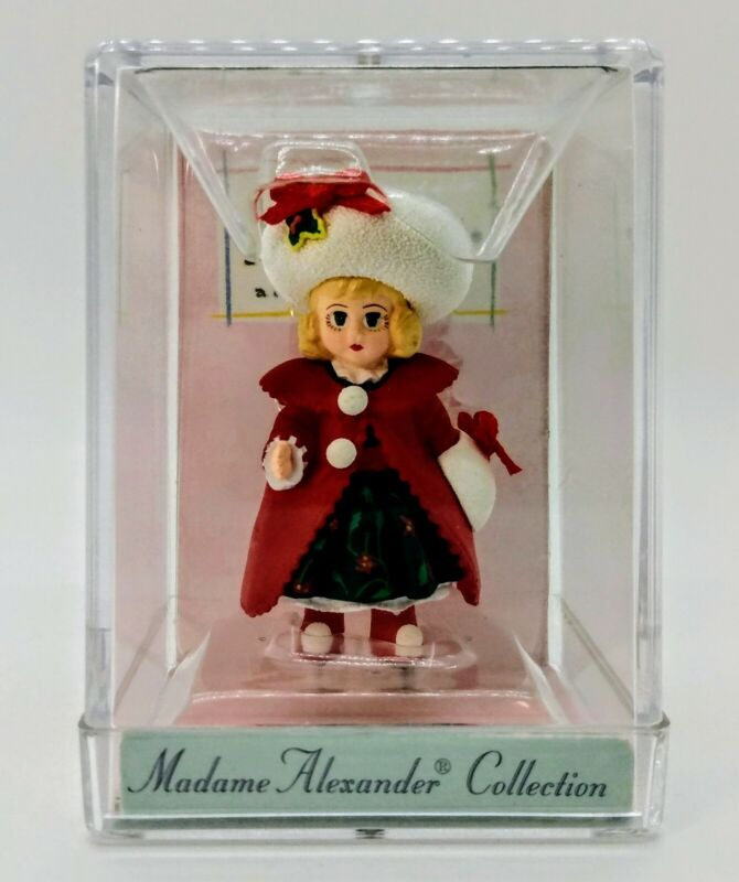 Hallmark Merry Miniatures 1998 Madame Alexander Collection Christmas Holly New