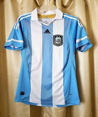 4b2807d3e69 100% Authentic Adidas Argentina 2012 -2013 Home Soccer Jersey Men's Small