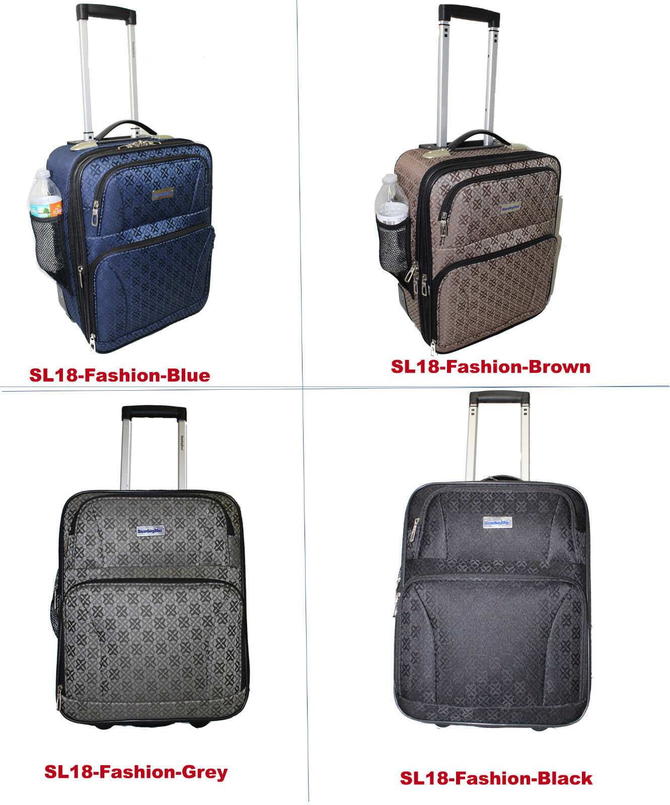 """BoardingBlue Personal Item 18""""  Luggage 4 Spirit Frontier Am"""