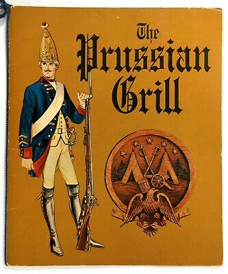 1967 Original Menu PRUSSIAN GRILL J.C. Penneys King Of Prussia Mall (King Of Prussia Malls)