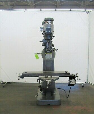 Bridgeport Series I 2hp Vertical Ram Type Milling Machine Id M-077