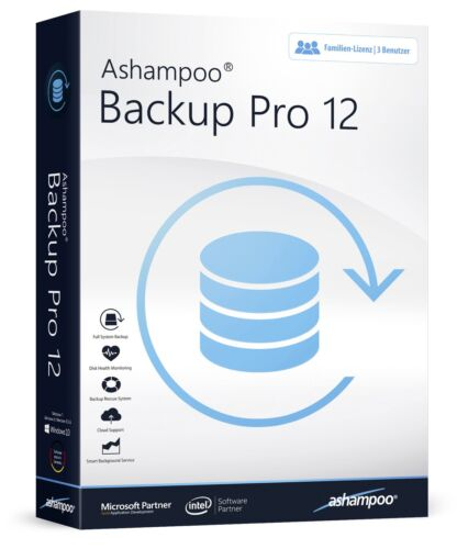 Ashampoo Backup Pro 12 - 3-Platz-Lizenz - Download Version