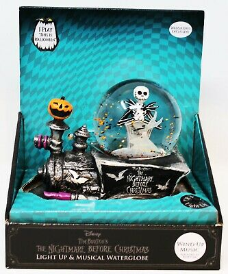 The Nightmare Before Christmas Jack & Zero Train Snow Globe 2020 Walgreens Exclu