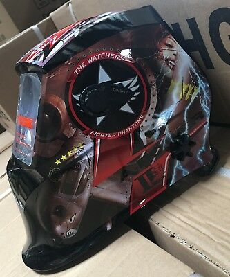 Ft500 Auto Darkening Welding Helmet Mask 4 Sensorsdin 9 To 13