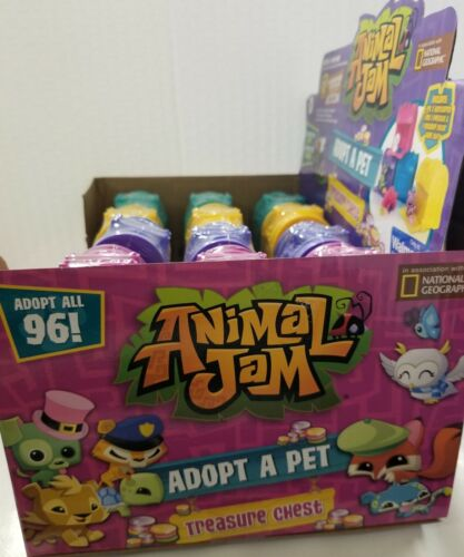 Animal Jam Adopt A Pet Treasure Chests Mystery Case of 24 For Sale - 5
