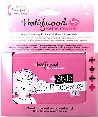 HOLLYWOOD FASHION SECRETS STYLE EMERGENCY KIT 14 ESSENTIALS