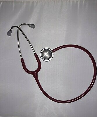 Littmann Classic Ii Se 3m Stethoscope Redburgundy No Box Euc Recent Refurb 28