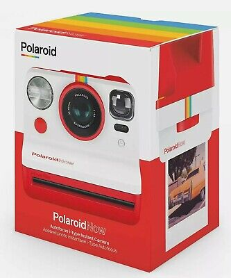 Polaroid Now i‑Type Instant Camera (Red)