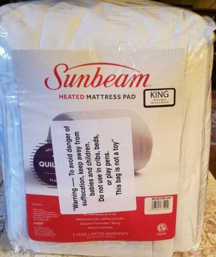 king program heated mattress pad bed warm
