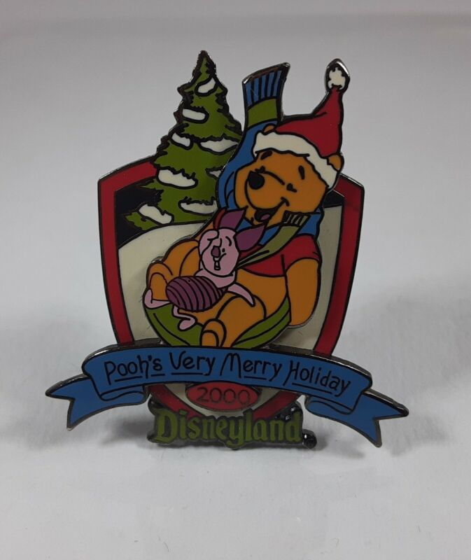 Disneyland Christmas 2000 Pooh