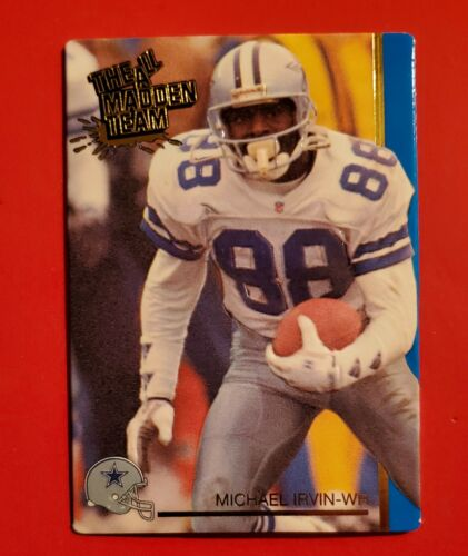 Michael Irvin 1992 Action Packed All-Madden Team 41 Dallas Cowboys HOF - $1.29