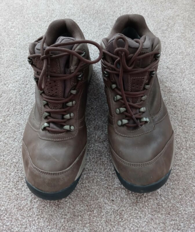 NEW BALANCE WW978GT Brown Leather GORETEX Lace Up Hiking Shoes WOMEN