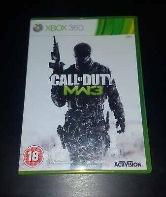 Call of Duty Modern Warfare 3 / MW3 Microsoft Xbox 360 Game, VGC