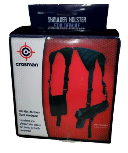 Crosman AirSoft Shoulder Holster Model CSHB New with Box
