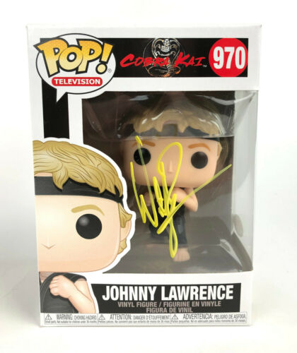 "William Zabka Autograph Signed Funko Pop - The Karate Kid ""Johnny"" (JSA COA)"