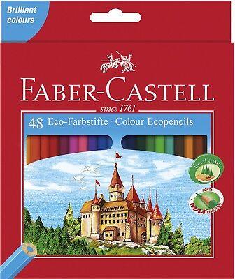 bstifte Buntstifte Malstifte 48er Etui Eco Zeichenstifte (Faber Castell Buntstiften)