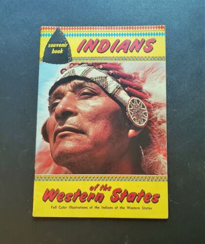 Vintage Indians of the Western States Souvenir Book 1950