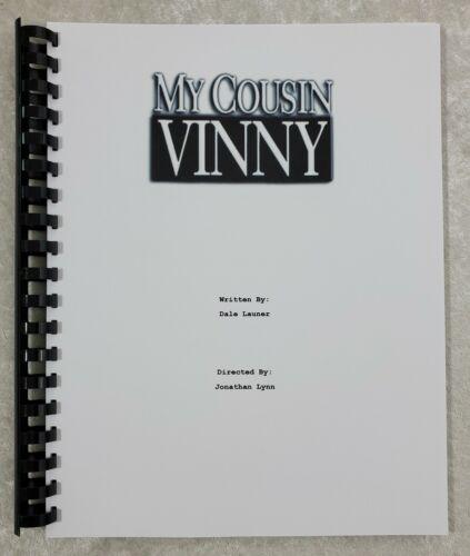 My Cousin Vinny Movie Script Reprint Full Script Screenplay 1992 Film