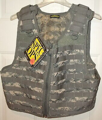 Spec Ops Brand SOTECH ACU UCP Digital Camo MOLLE Over Armor Tactical Vest NWT