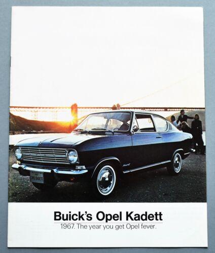 ORIGINAL 1967 OPEL KADETT PRESTIGE SALES BROCHURE ~ 20 PAGES ~ 67OPEL