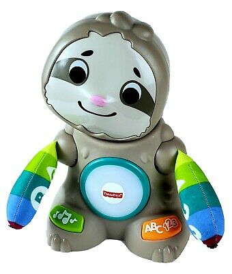 Fisher Price Linkimals Smooth Moves Sloth Teaching Game Song, Sounds, New Other