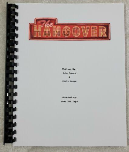 The Hangover Movie Script Reprint Full Screenplay Script 2009 Bradley Cooper