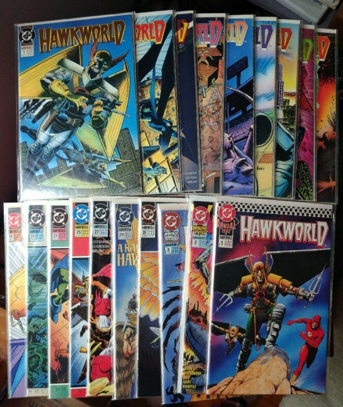 Hawkworld 1-32 Annual 1 2 3 complete series