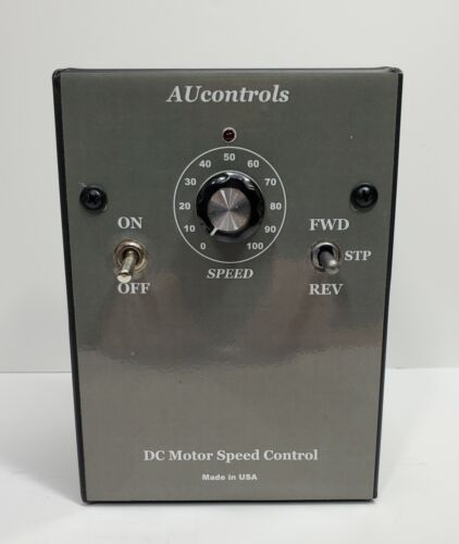 REVERSIBLE DC Motor Speed Controller: 1 HP, 90 VDC, 10 Amp. Made in USA.
