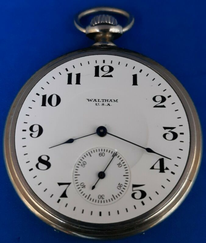 Waltham,Size 12, Pocket Watch.FREE 3 DAY PRIORITY SHIPPING.