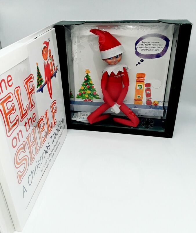 Elf on The Shelf a Christmas Tradition Set - Pre-Owned
