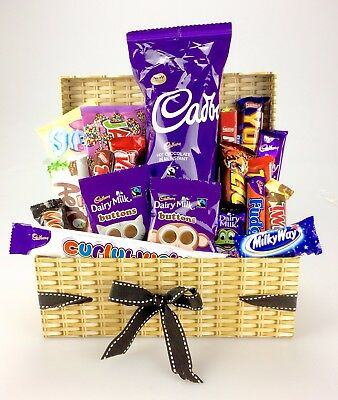 Luxury CHOCOLATE Hamper BOX Large 25+ CADBURY NESTLE Birthday Easter